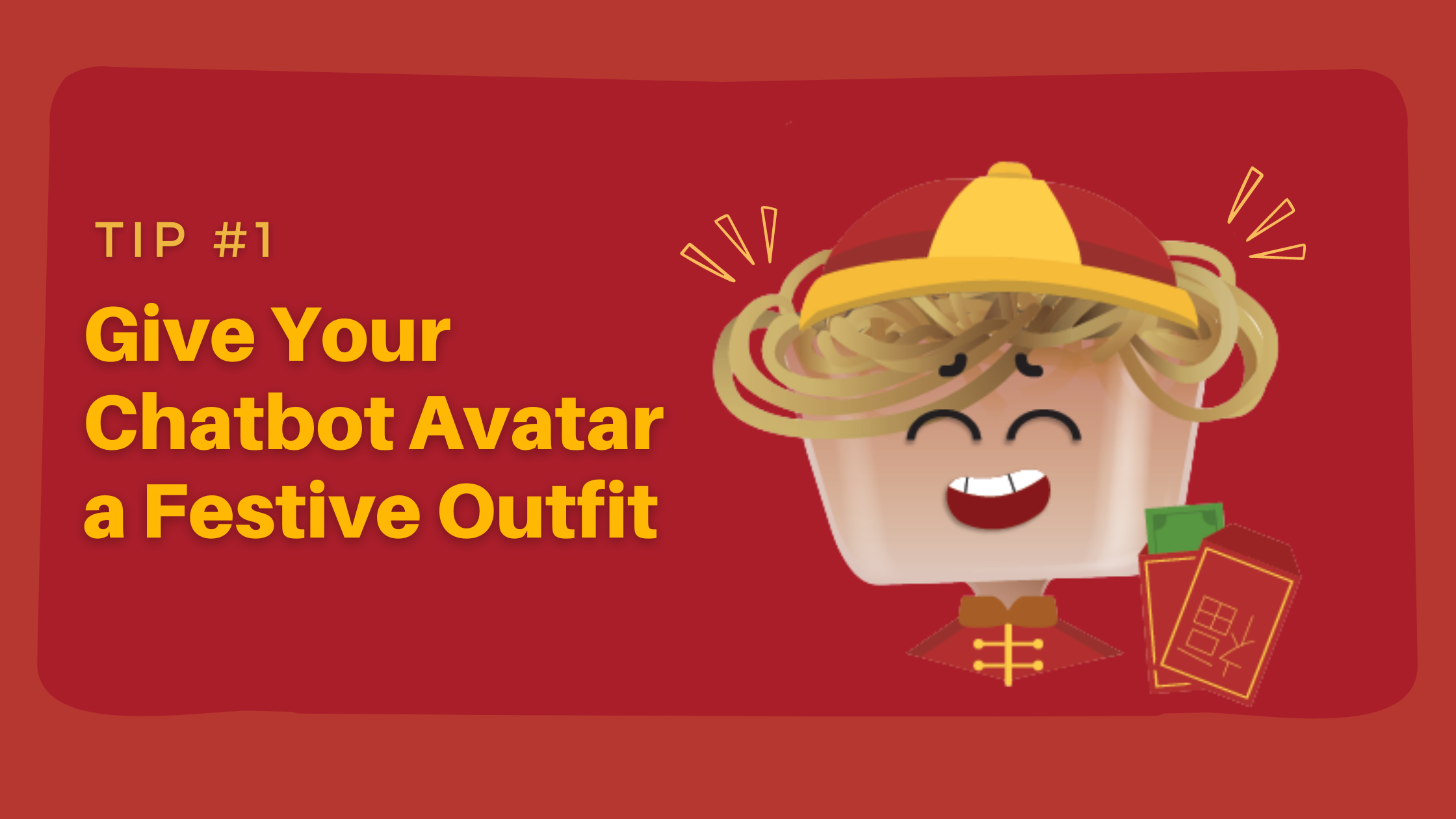 Prepare Your Chatbot for Chinese New Year - give your avatar a festive outfit