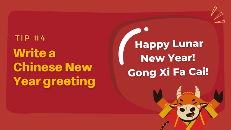 Prepare Your Chatbot for Chinese New Year - write a greeting
