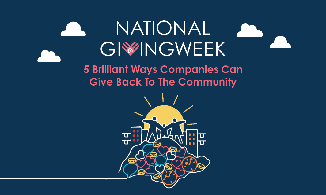 National Giving Week: 5 Brilliant Ways Companies can Give Back to the Community